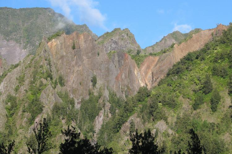 Piton Anchain - © Parc national de La Réunion